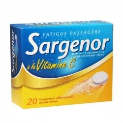 Sargenor à la Vitamine C 20 Comprimés effervescents pas cher, discount