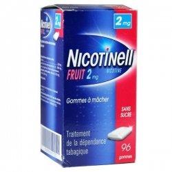 Nicotinell 2 mg Fruit 96 Gommes à mâcher Sans Sucre pas cher, discount