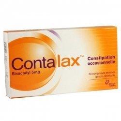 Contalax Constipation Occasionnelle 30 Comprimés gastro-résistants