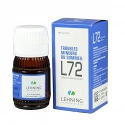 Lehning L72 Troubles Mineurs du Sommeil 30 ml pas cher, discount