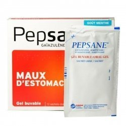 Pepsane Sans Sucre Maux d'Estomac 12 Gels Buvable en Sachets-Dose pas cher, discount