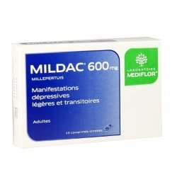 Mildac 600 mg Manifestations Dépressives Légères 15 Comprimés