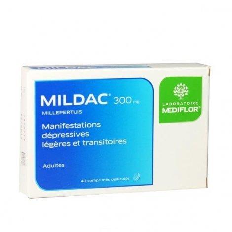 Mildac 300 mg Manifestations Dépressives Légères 40 Comprimés pas cher, discount