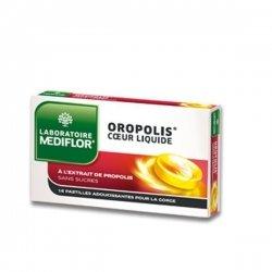 Mediflor Oropolis Coeur Liquide Au Propolis 16 Pastilles Adoucissance Pour a Gorge