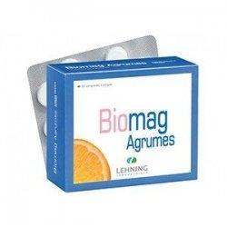 Biomag Agrumes Stress Anxiété Fatigue 90 Comprimés à croquer