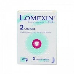 Lomexin 600 mg 2 Capsules Molles Vaginales