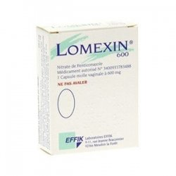 Lomexin 600 mg 1 Capsule Molle Vaginale pas cher, discount